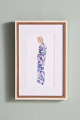 Slide View: 1: Kimono Wall Art