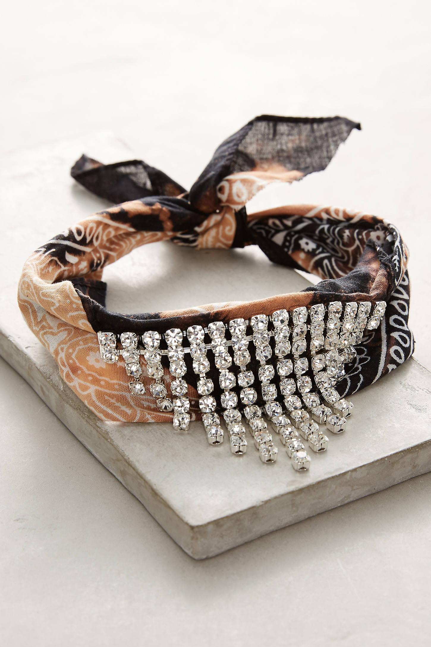 Ashanti Bandana Choker Necklace