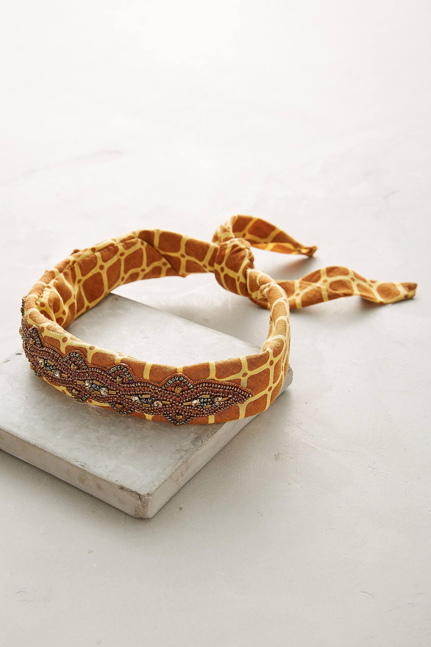 Giraffe Bandana Headband