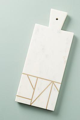 Slide View: 1: Angled Inlay Cheese Board