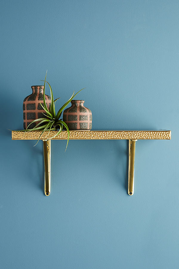 Hammered Perrie Shelf - Bronze, Size S