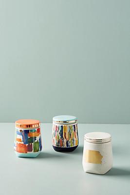 Slide View: 3: Brushed Spice Jars