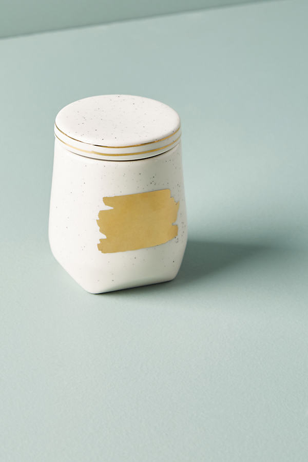 Brushed Spice Jars - Gold, Size Spice Jars