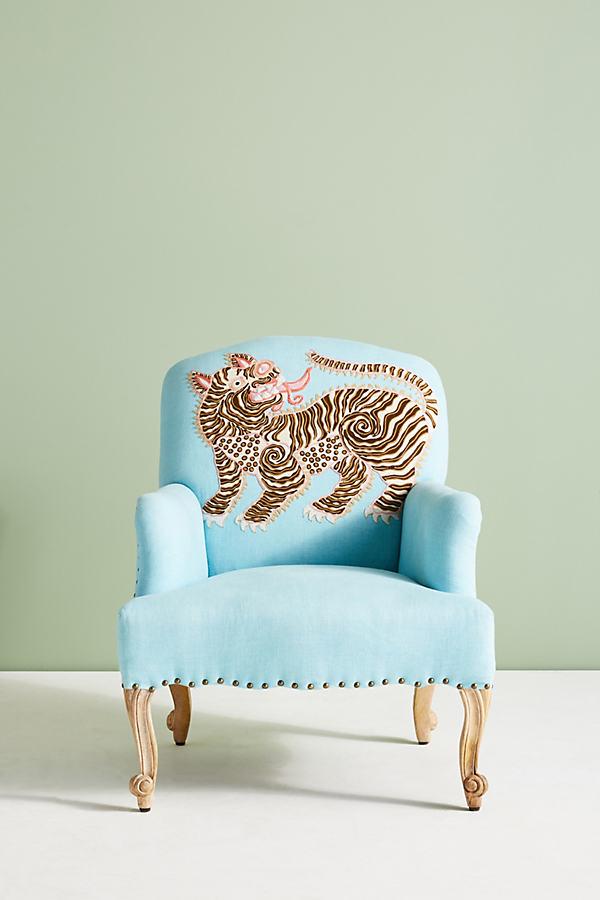 Palace Portrait Chair - Sky
