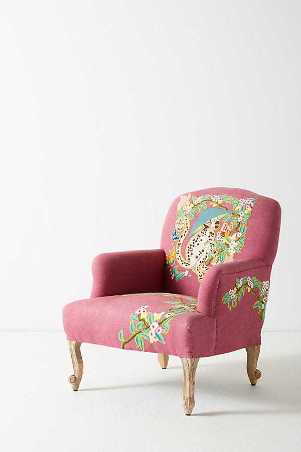 Palace Portrait Chair - Wine
