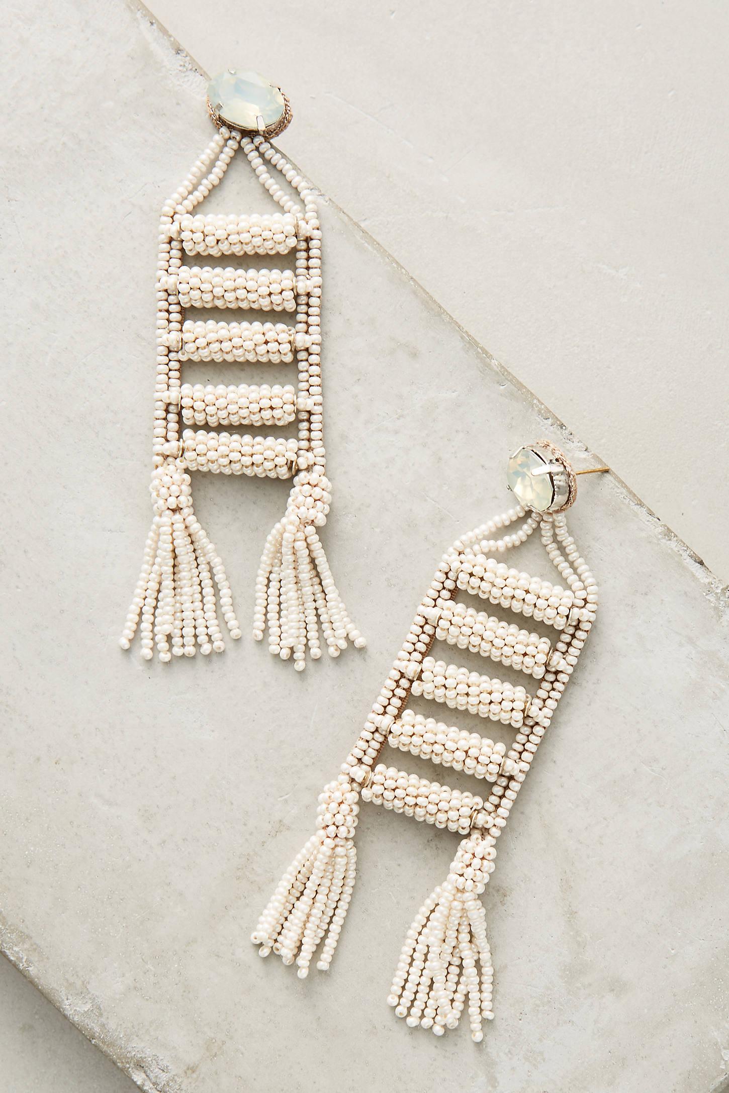Fringed Ladder Drop Earrings