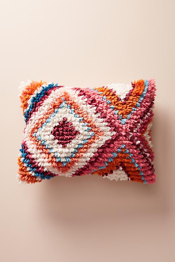 Shareen Pillow - Red Motif, Size 14