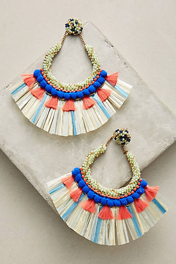 Aracari Drop Earrings