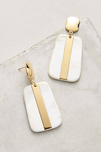 Horn Drop Earrings