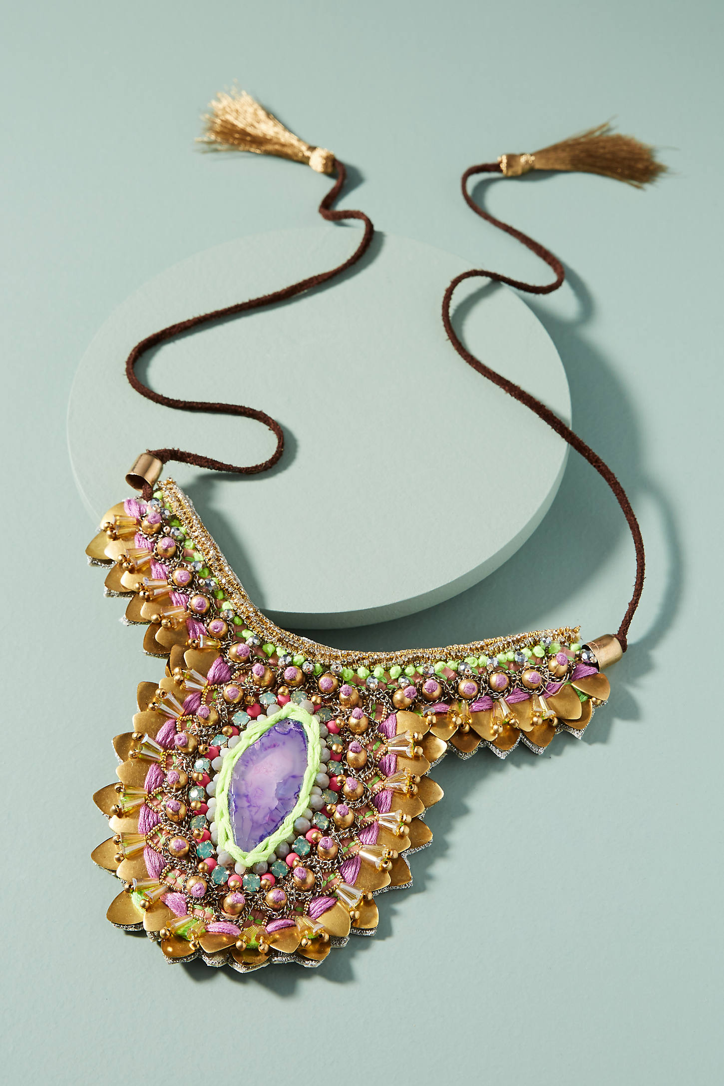 Purple Thorn Necklace