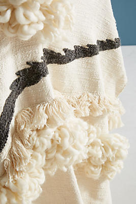 Slide View: 2: Textured Outre Throw Blanket
