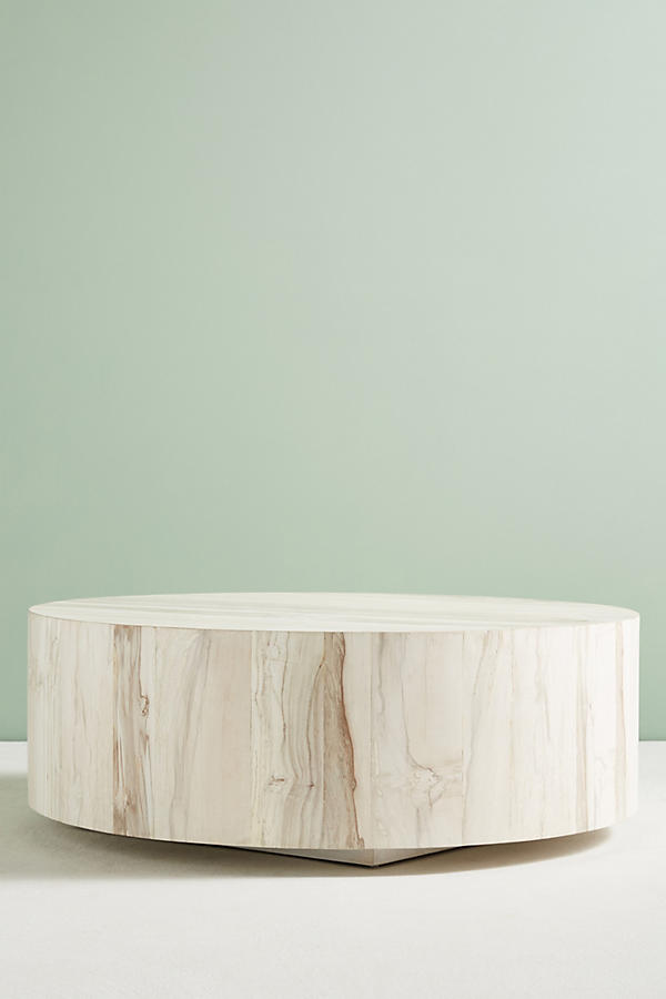 Swirled Drum Coffee Table Anthropologie