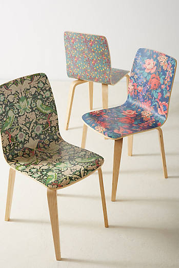 Liberty for Anthropologie Tamsin Dining ChairUnique Kitchen   Dining Room Furniture   Anthropologie. Ding Room Chairs. Home Design Ideas