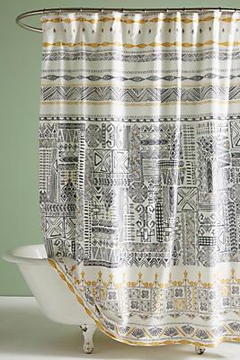 Slide View: 1: Nurata Shower Curtain