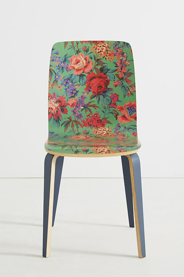 Liberty for Anthropologie Tamsin Dining Chair - Lime