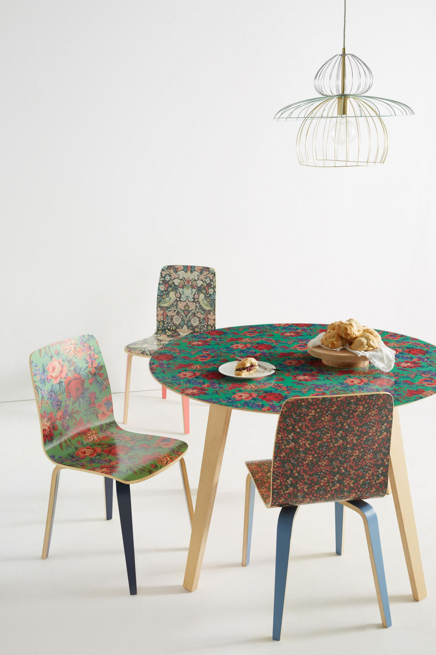 Slide View 7 Liberty For Anthropologie Tamsin Dining Chair
