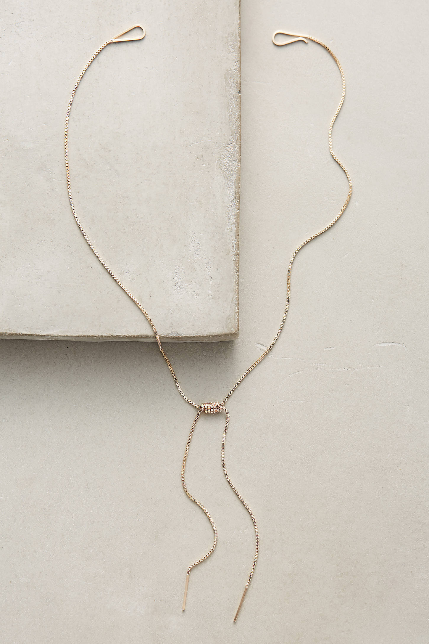Rope Bow Necklace