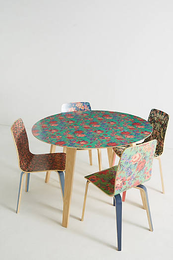 Slide View: 3: Liberty for Anthropologie Tamsin Dining Table