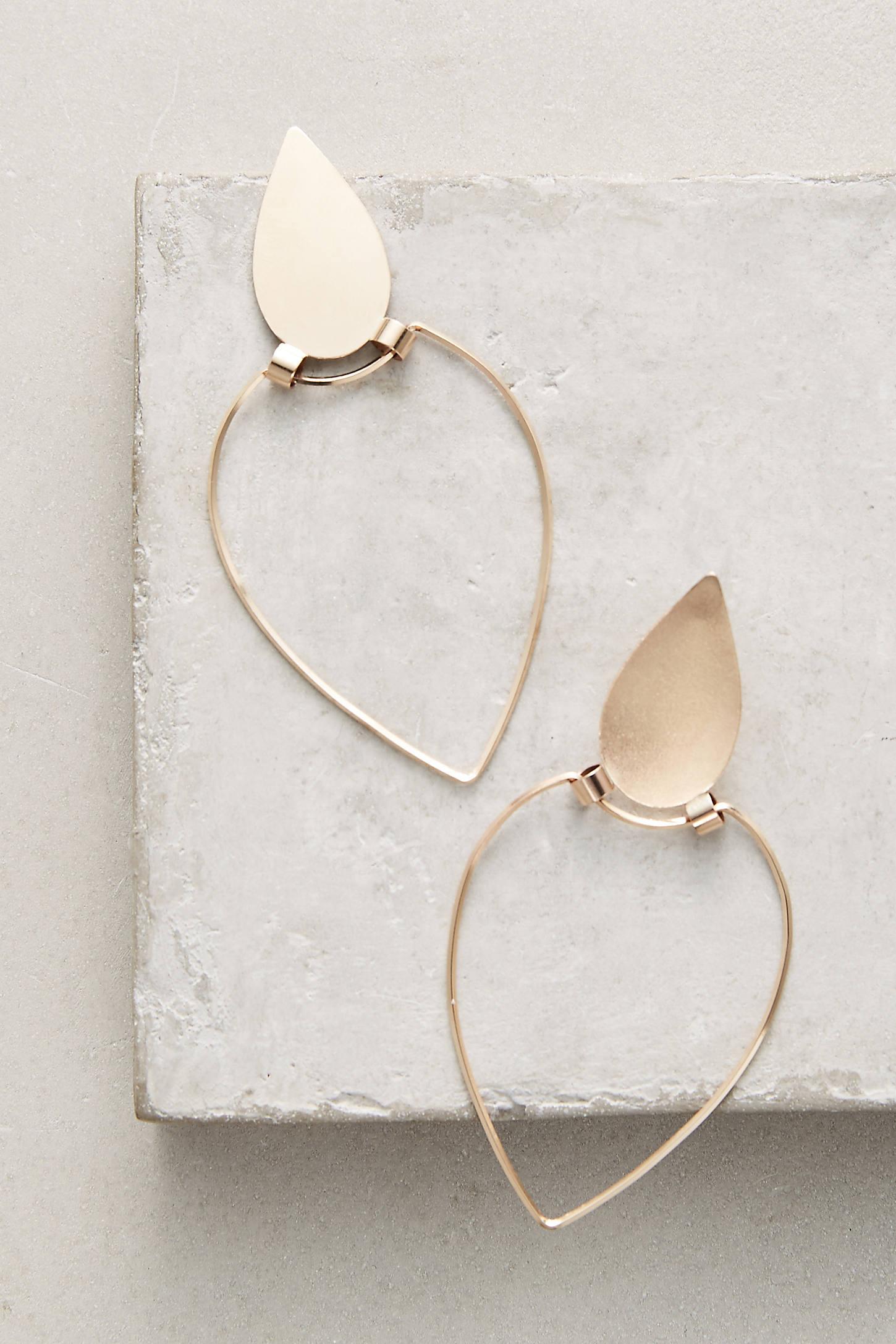 Inverted Teardrop Earrings