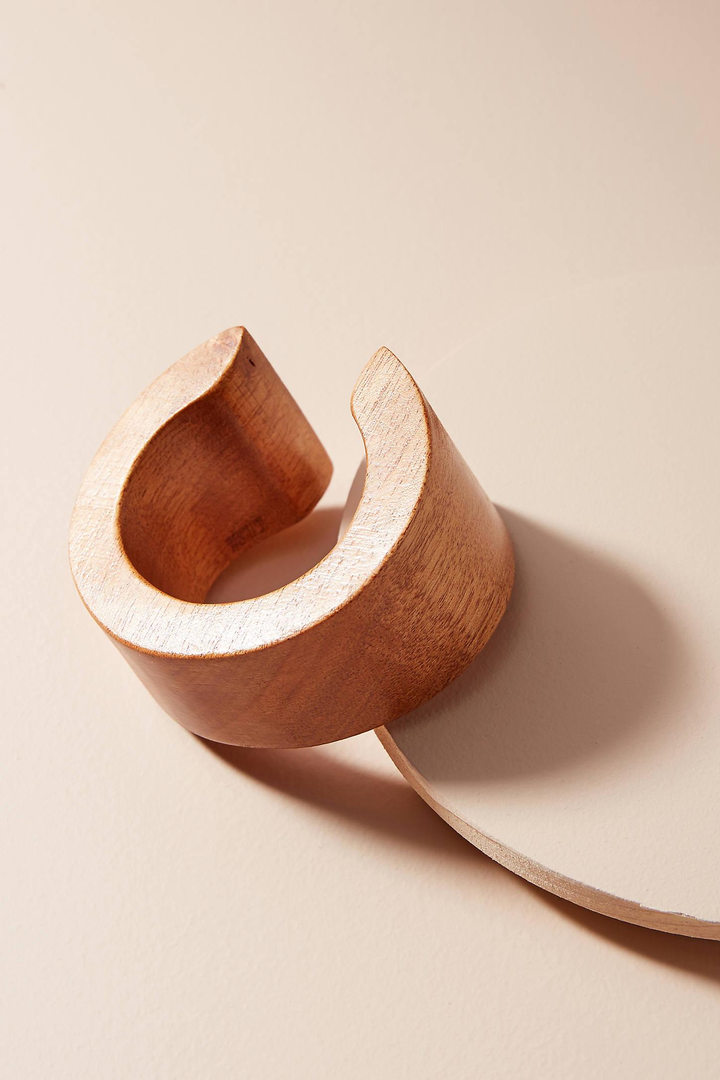 Tesoro Wooden Cuff Bracelet