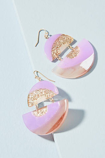 Equator Drop Earrings
