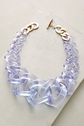 Looped Lucite Necklace