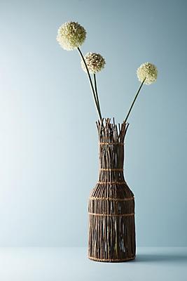 Slide View: 1: Vine-Wrapped Vase