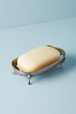 Slide View: 1: Footed Soap Dish