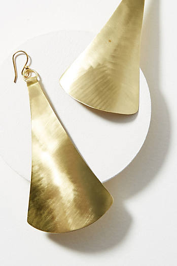 Flared Drop Earrings