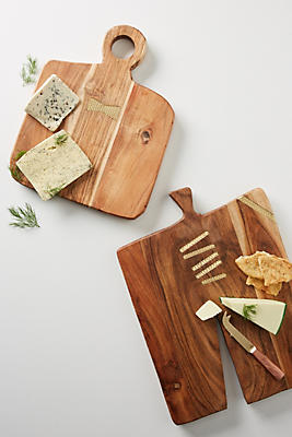 Slide View: 3: Woodblock Cheese Board