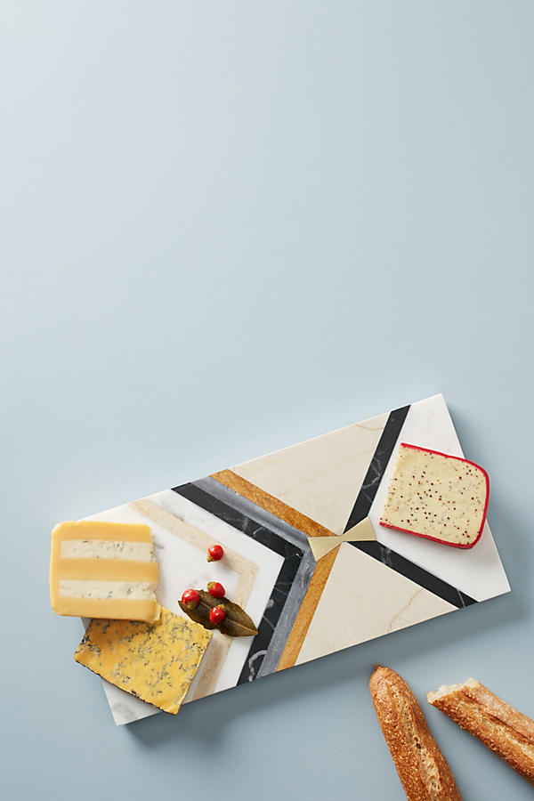 Slide View: 1: Mixed Inlay Cheese Board