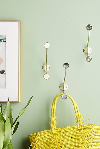 Funky Wall Hooks hooks | anthropologie