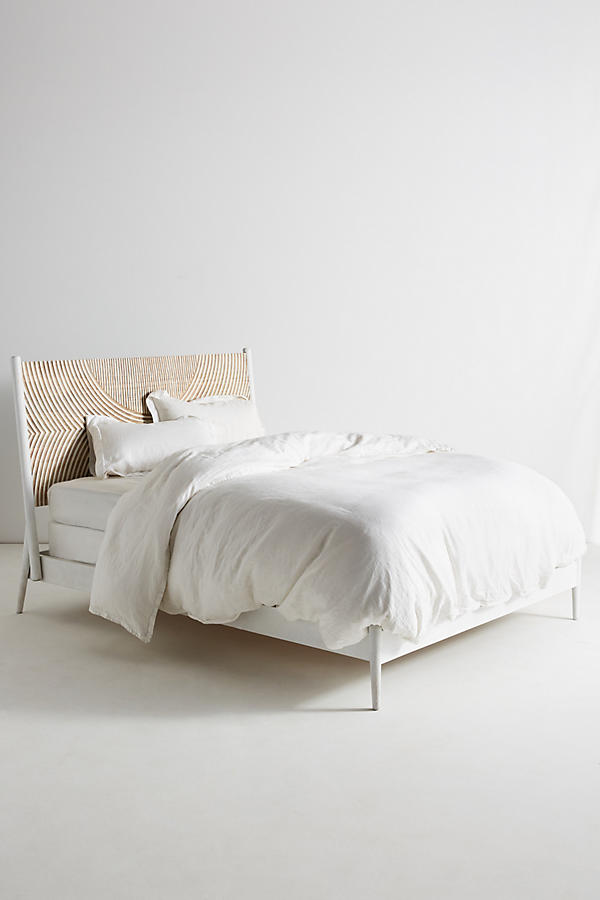 Slide View: 4: Carved Thalia Bed