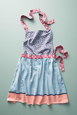 Slide View: 1: Liberty for Anthropologie Jacquard-Woven Apron