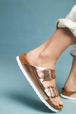 8db0a468689 Birkenstock Metallic Arizona Sandals  135