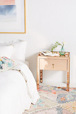 gracemere mirrored nightstand | anthropologie Mirrored Nightstand