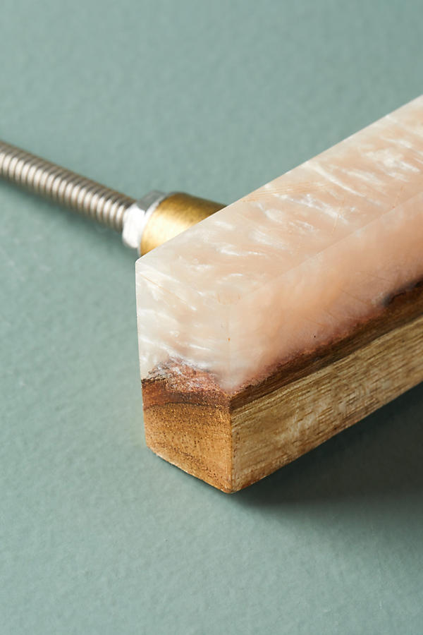 Slide View: 7: Frosted Timber Handle
