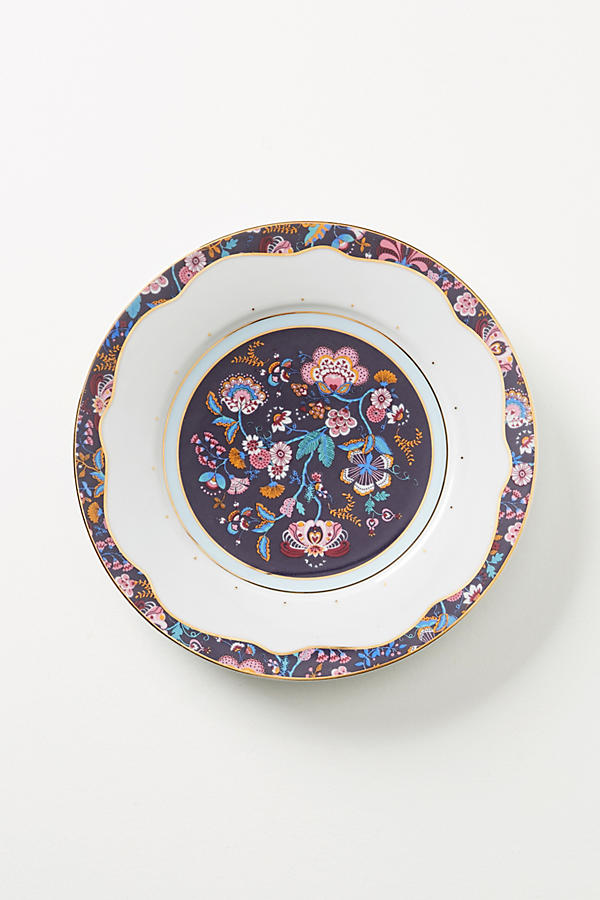 Slide View: 1: Liberty for Anthropologie Mabelle Floral Dinner Plate