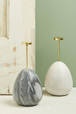Slide View: 3: Marble Egg Doorstop