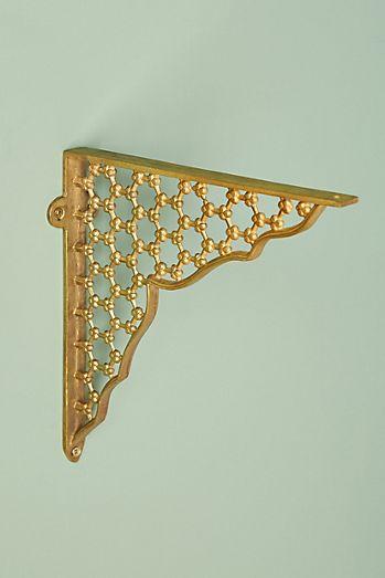 ihada large shelf of brackets o futagami brass x set