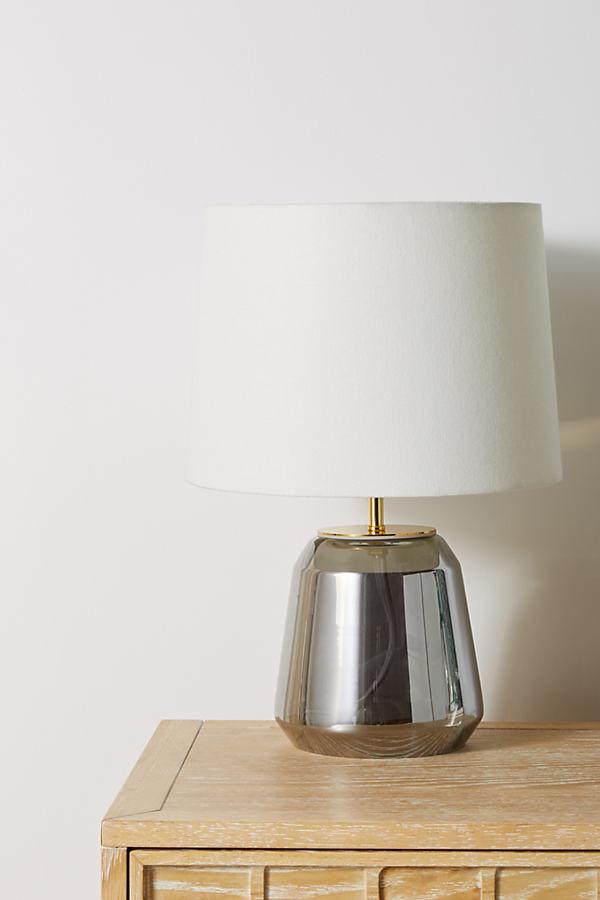 Salmar Lamp Base - Silver