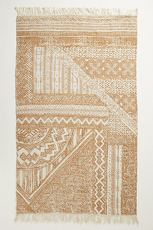 Jute Linework Rug - Taupe, Size 8 X 10
