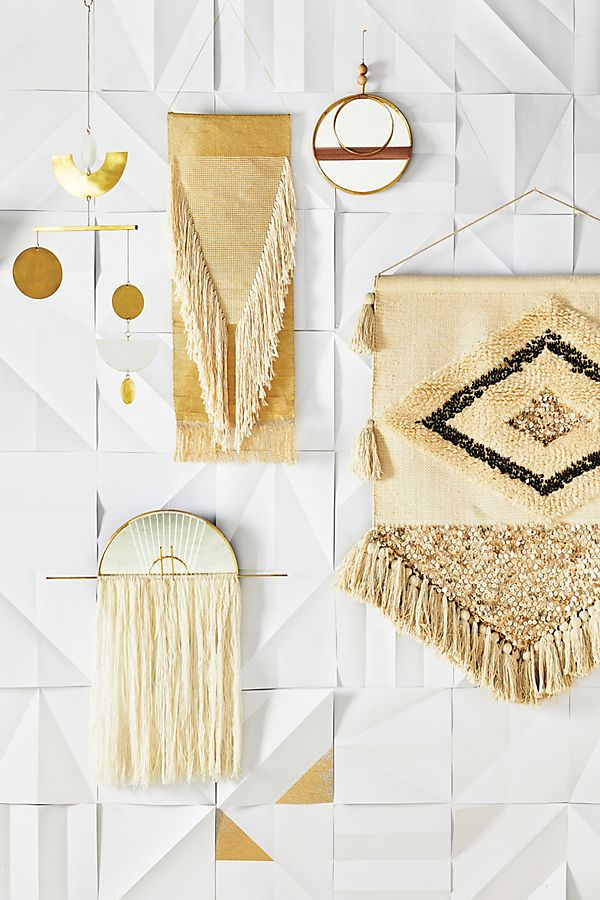 Ulla Embroidered Wall Art | Anthropologie