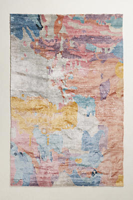 elimina silk rug | anthropologie