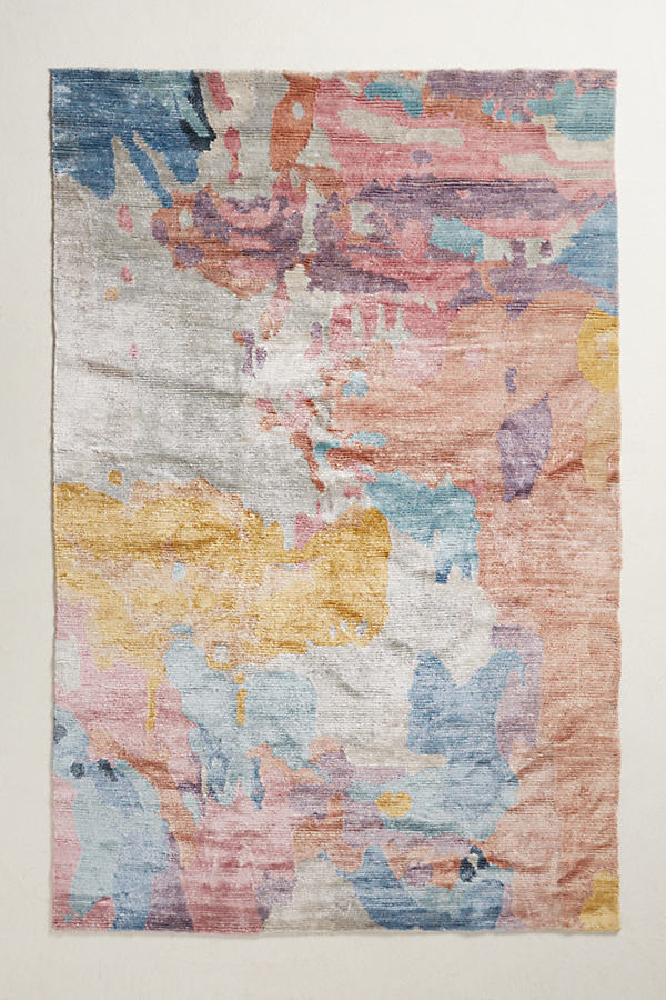 Elimina Silk Rug Swatch - Assorted, Size Swatch