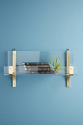 Slide View: 1: Lucite Shelf