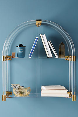 Slide View: 1: Lucite Arch Shelf
