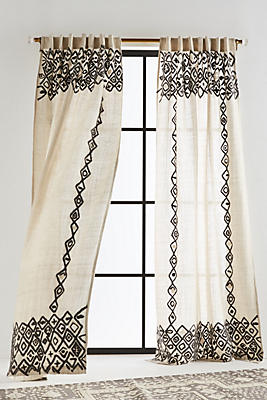 Slide View: 1: Beaded Pippette Curtain