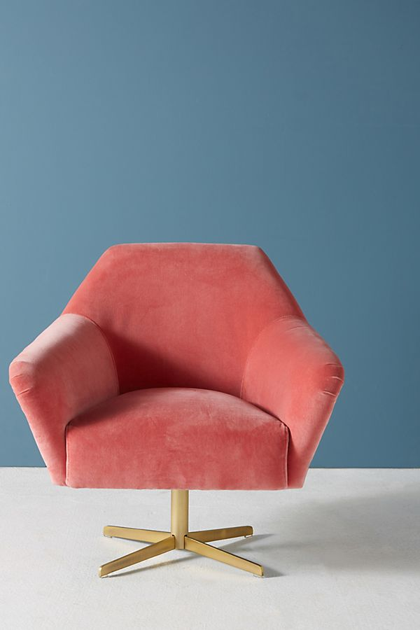 Almere Swivel Chair | Anthropologie