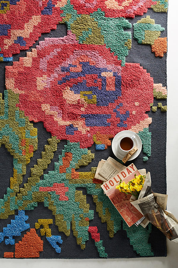 Slide View: 2: Rose Trio Rug